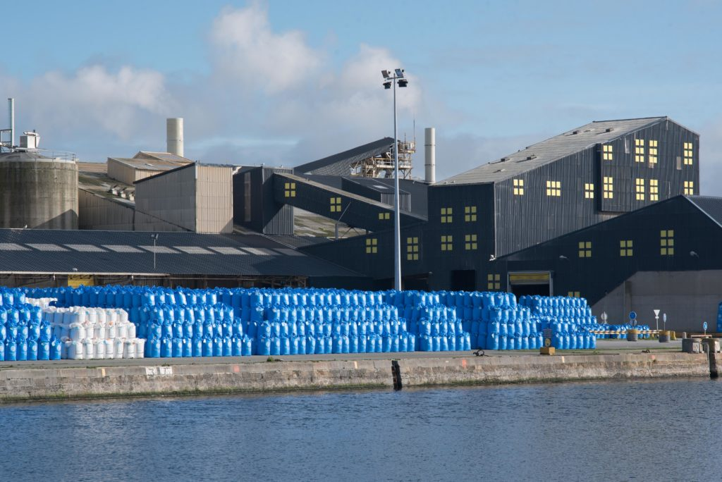 L'usine Timac agro du groupe Roullier à Saint-Malo - Splann !