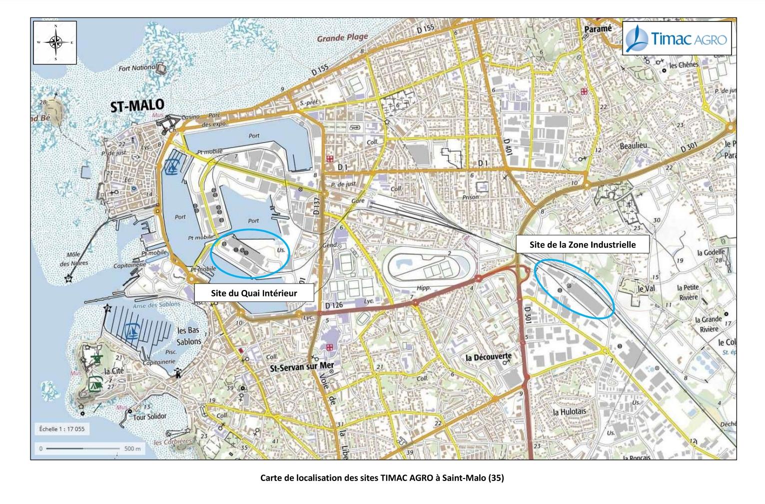 210616 - Splann ! Plan des sites Timac Agro à Saint-Malo