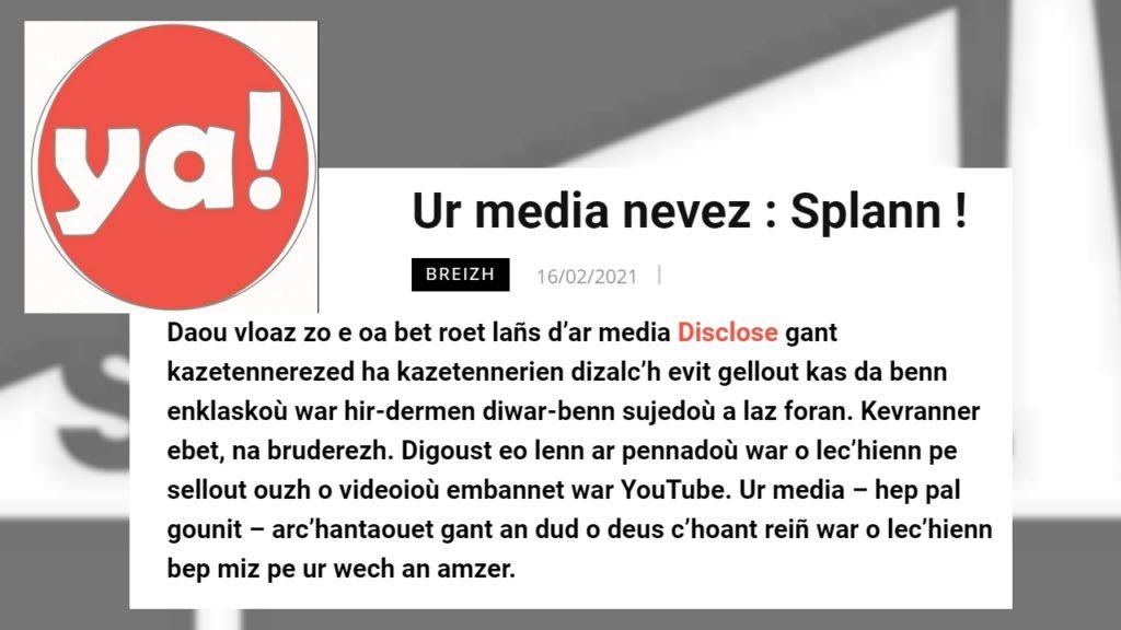 210216 - Ya ! Ur media nevez Splann !