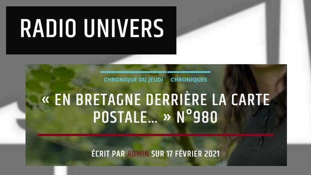 210217 - Radio Univers En Bretagne derrière la carte postale