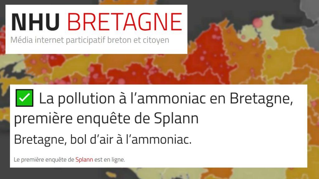 210616 - NHU La pollution à l'ammoniac en Bretagne, première enquête de Splann !