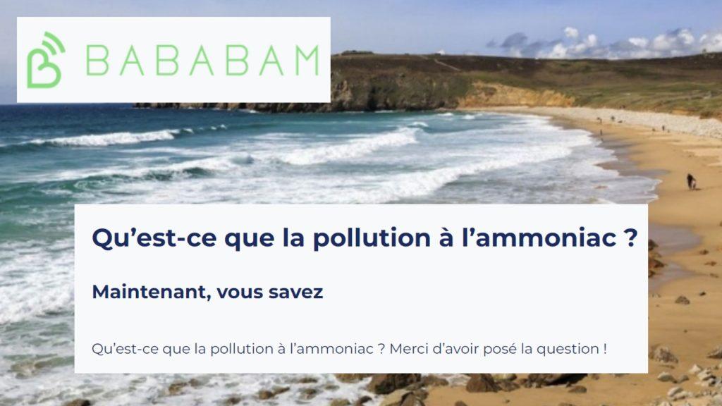 210621 - Bababam Podcast Qu'est-ce que la pollution à l'ammoniac